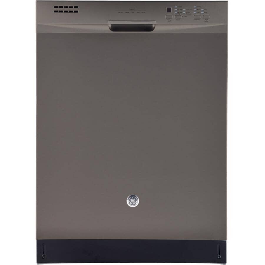 "GE:24"" Slate Built-In Dishwasher"