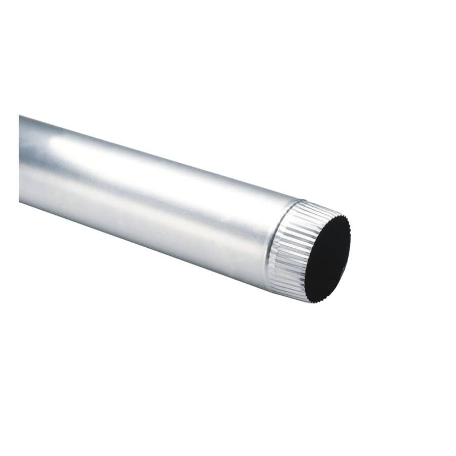 """DUNDAS-JAFINE:3"""" x 24"""" Aluminum Dryer Vent Pipe"""