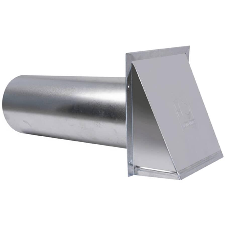"DUNDAS-JAFINE:4"" Aluminum Vent Hood, with Tailpiece"