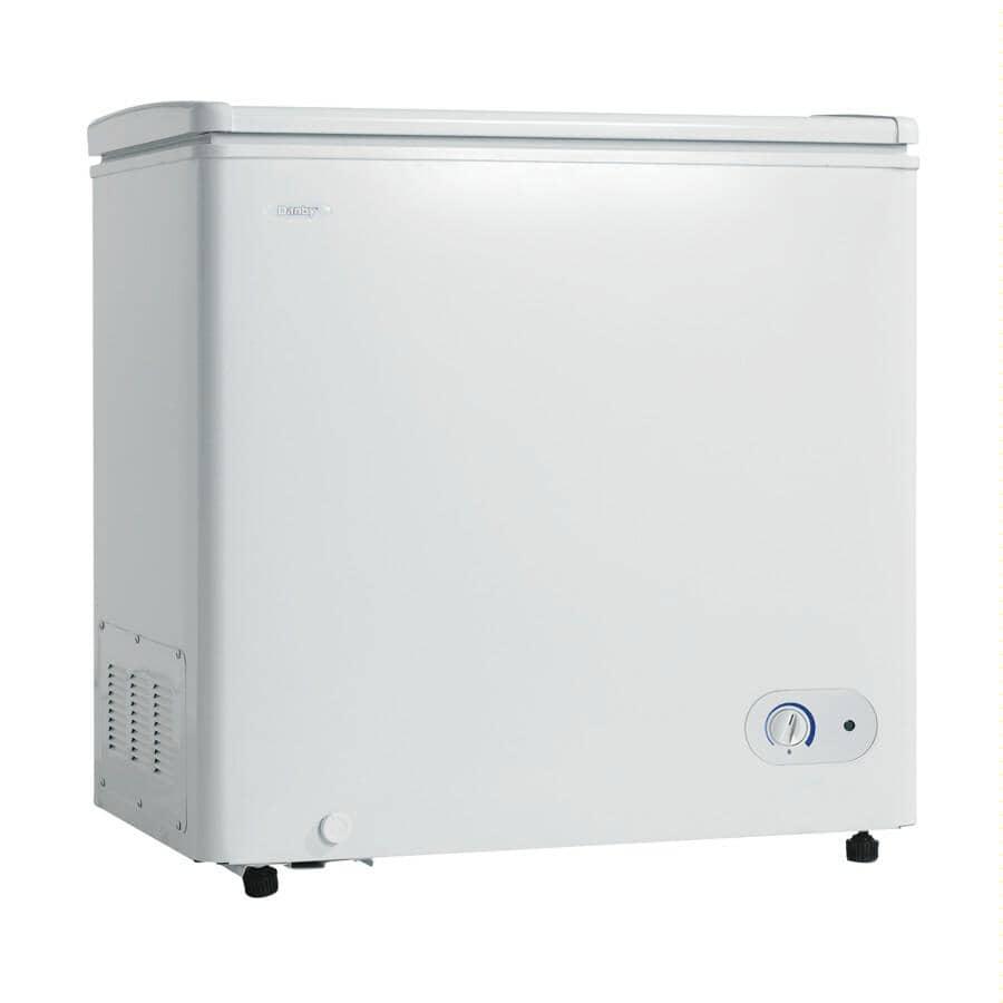DANBY:5.5 cu. ft. White Chest Freezer