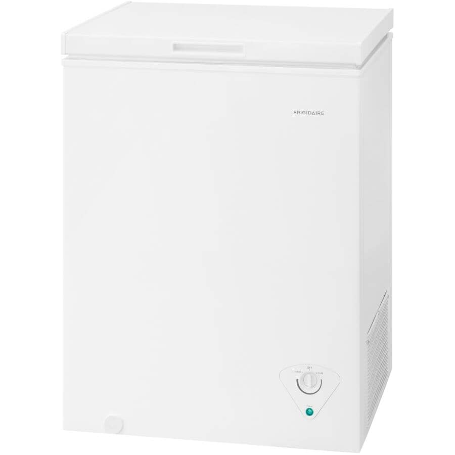 FRIGIDAIRE:5 cu. ft. White Chest Freezer