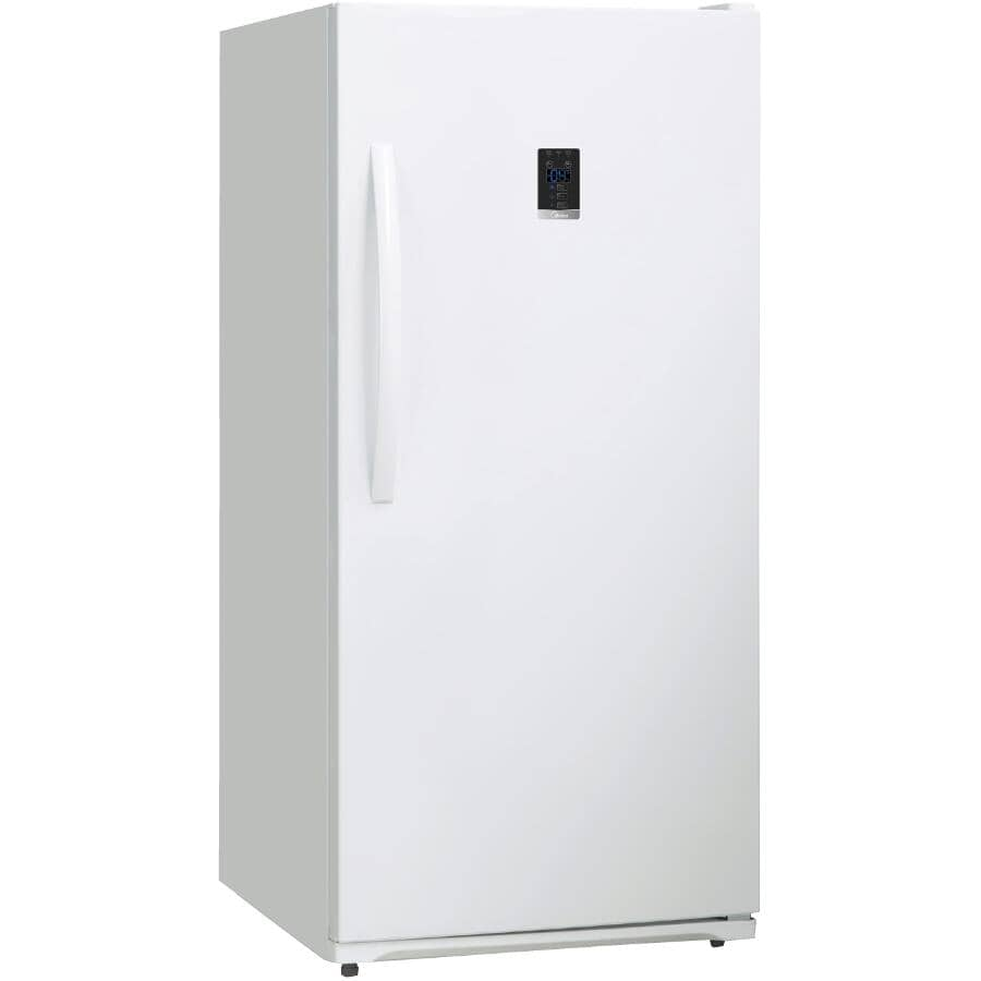 CLASSIC:Convertible Vertical Freezer (HS-507FWE) - White, 13.8 cu. ft.