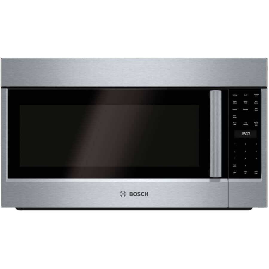 BOSCH:500 Series 2.1 cu.ft Over-The-Range Microwave Oven (HMV5053C) - 1000 Watt, Stainless Steel