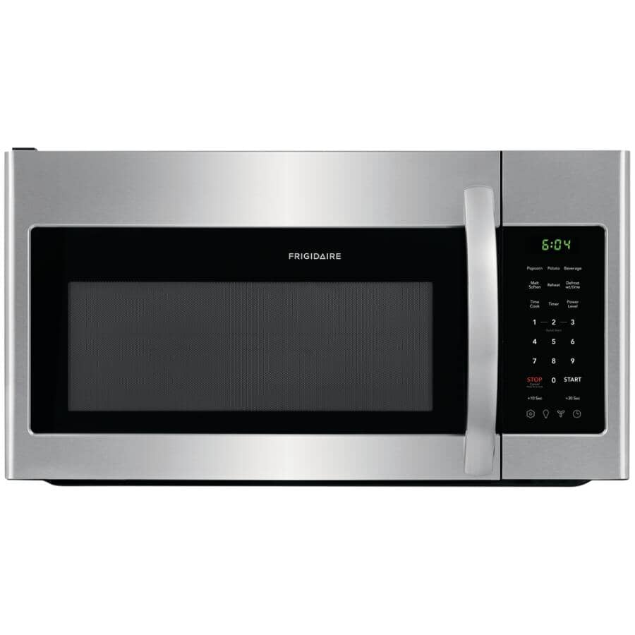 FRIGIDAIRE:1.8 cu. ft. Over-The-Range Microwave Oven (FFMV1846VS) - Stainless Steel, 1000W