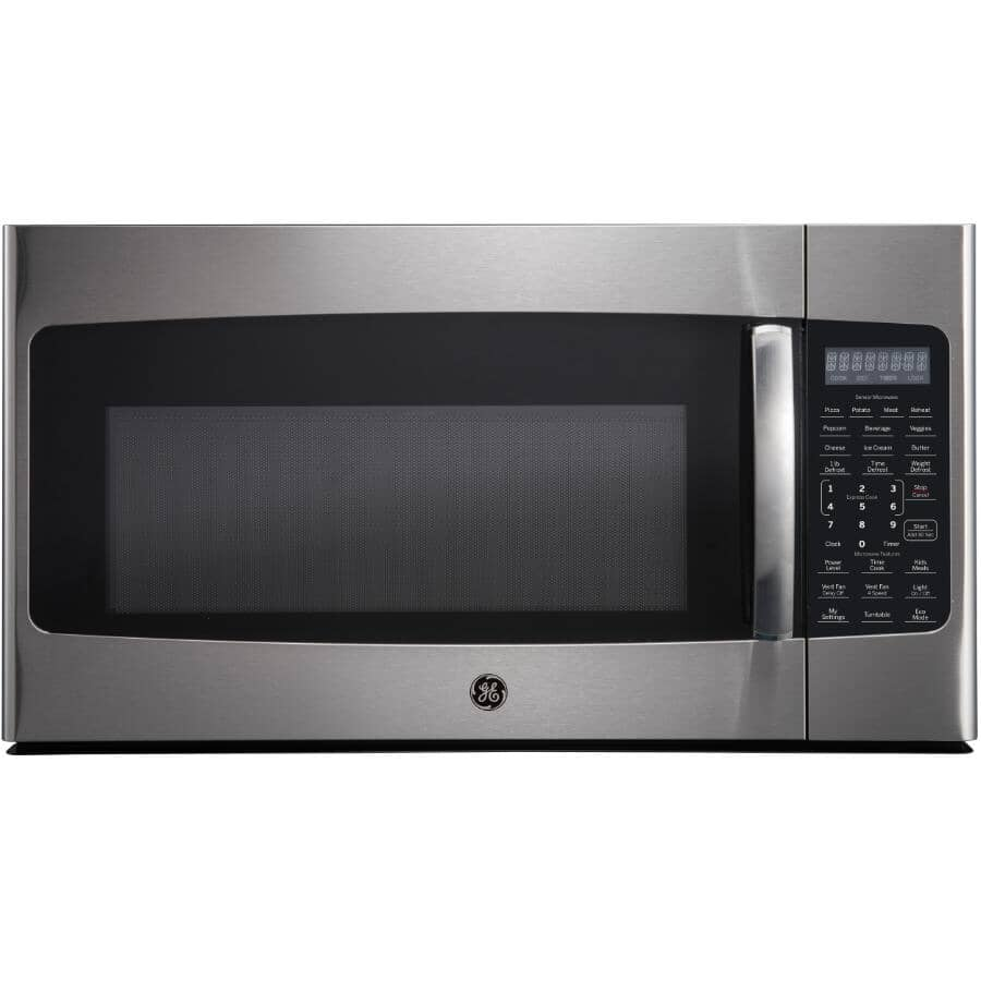 GE:1.8 cu. ft. Over-The-Range Microwave Oven (JVM2185SMSS) - Stainless Steel, 1000W