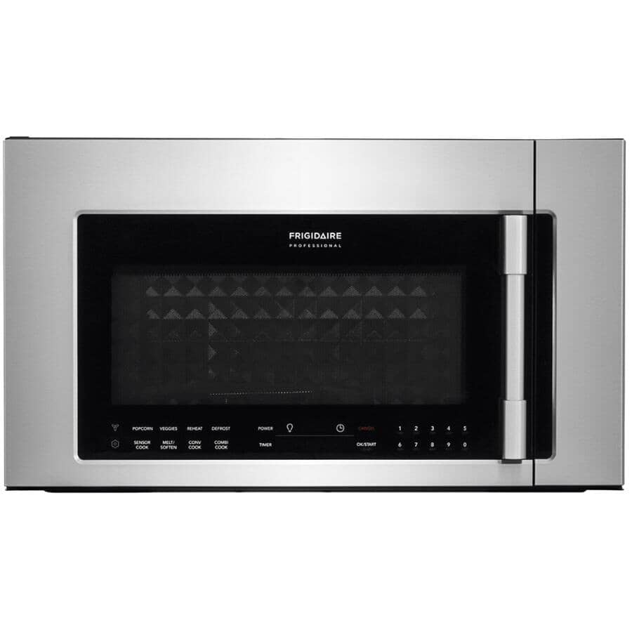 FRIGIDAIRE PROFESSIONAL:1.8 cu. ft. Over-The-Range Microwave Oven (CPBM3077RF) - Stainless Steel, 1050W