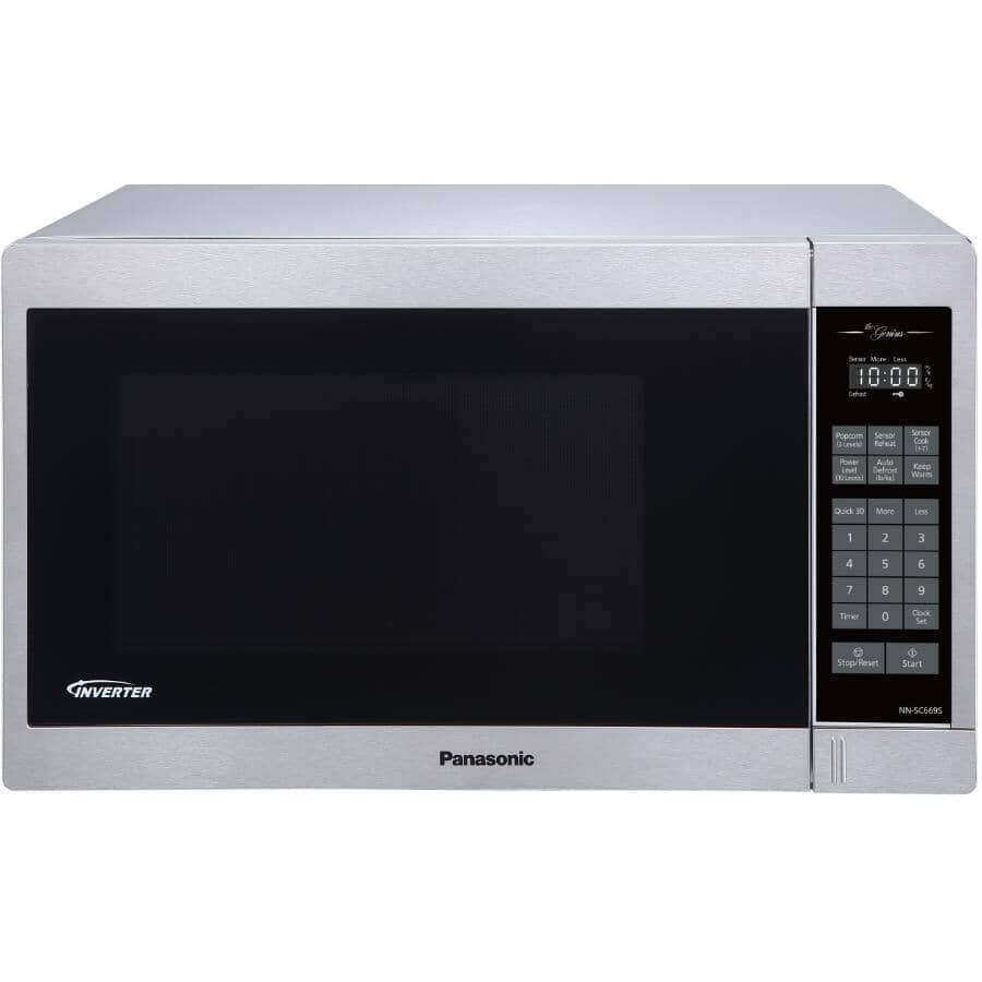 PANASONIC:1200 Watt 1.3 Cu. Ft. Genius Inverter Microwave - Stainless Steel