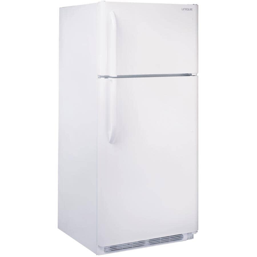 UNIQUE:18.2 cu. ft. Direct Vent Propane Refrigerator (UGP-18 W DV) - White