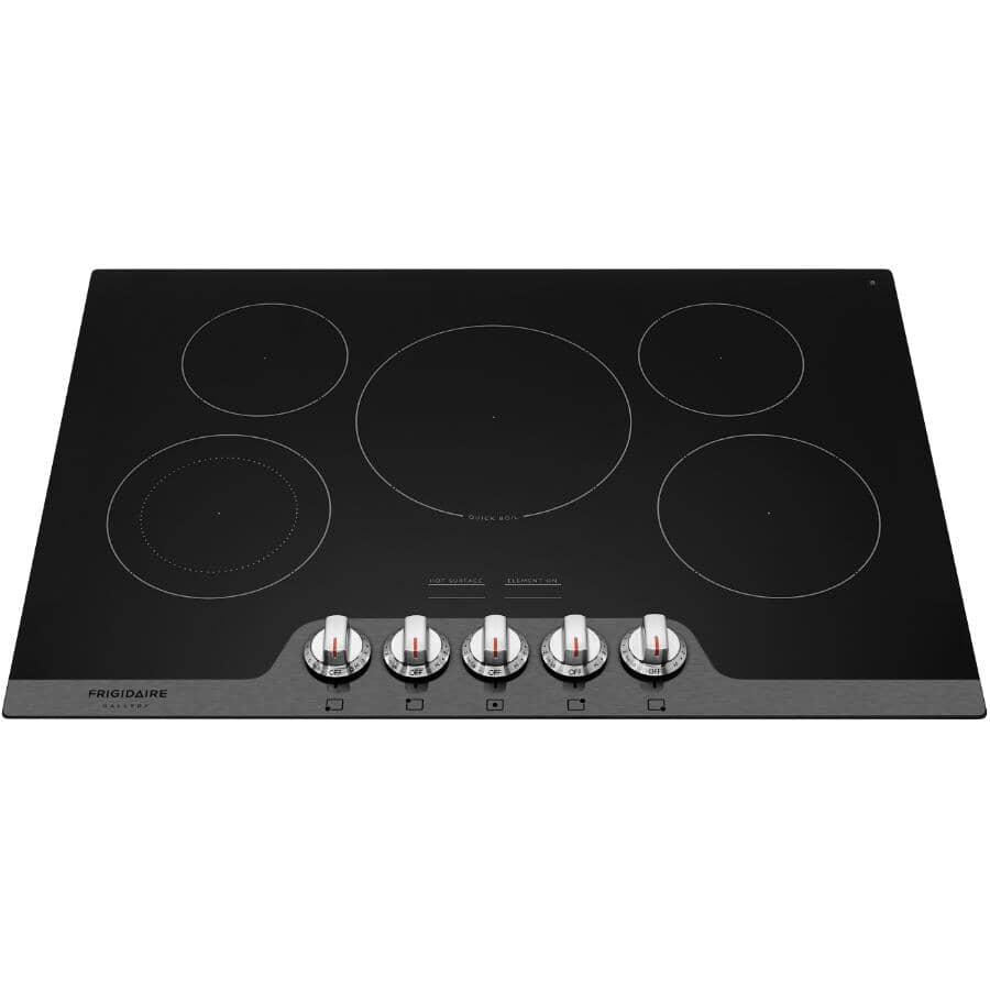 "FRIGIDAIRE GALLERY:30"" Built-in Electric Cooktop (FGEC3068US) - Black"