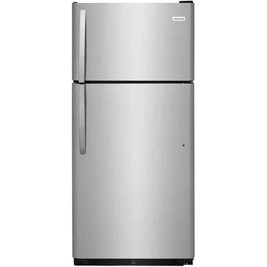 "FRIGIDAIRE:30"" 18 cu. ft. Top Freezer Refrigerator (FFTR1821TS) - Stainless Steel"