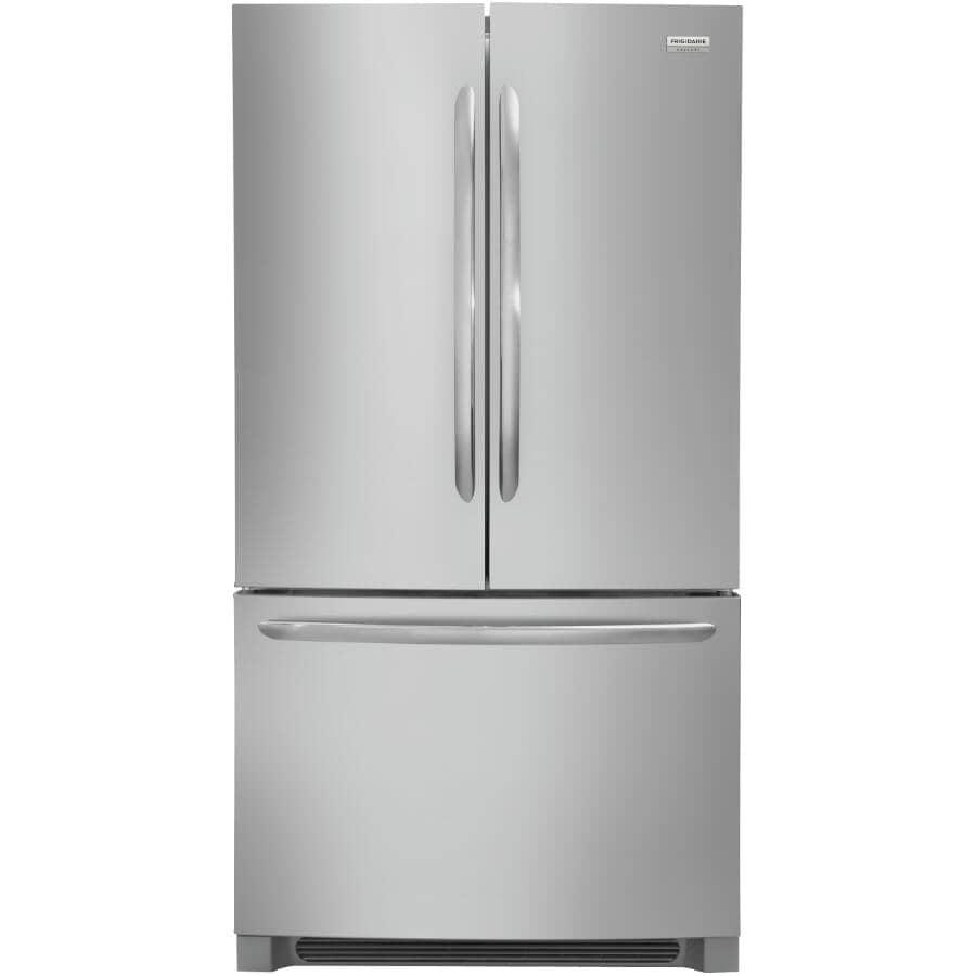 "FRIGIDAIRE GALLERY:36"" 22.4 cu. ft. French Door Bottom Freezer Refrigerator (FGHG2368TF) - Stainless Steel"
