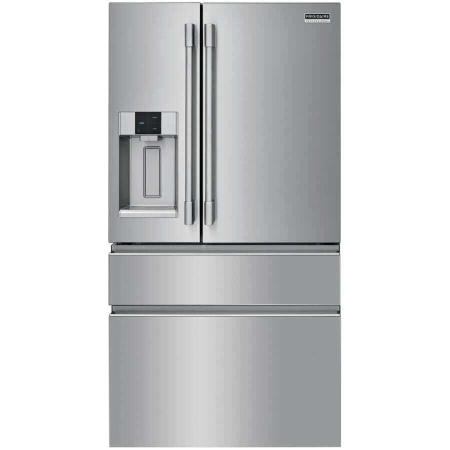 "FRIGIDAIRE PROFESSIONAL:36"" 21.8 cu. ft. French Door Bottom Freezer Refrigerator (PRMC2285AF) - Stainless Steel"