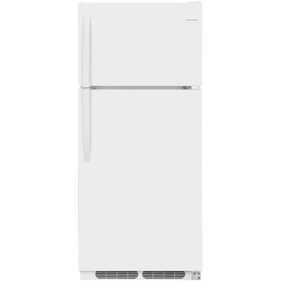 """FRIGIDAIRE:30"""" 18 cu. ft. Top Freezer Refrigerator (FFTR1821TW) - White"""
