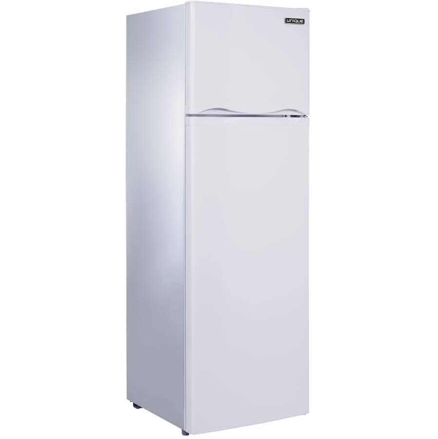 UNIQUE:9 cu. ft. Solar Powered Top Freezer Refrigerator (UGP-260L W) - White