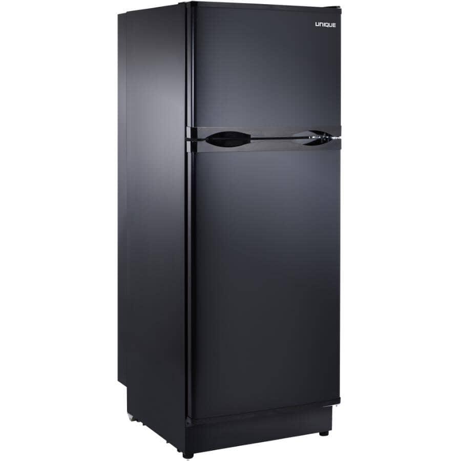 UNIQUE:10.3 cu. ft. Solar Powered Top Freezer Refrigerator (UGP-290L B) - Black