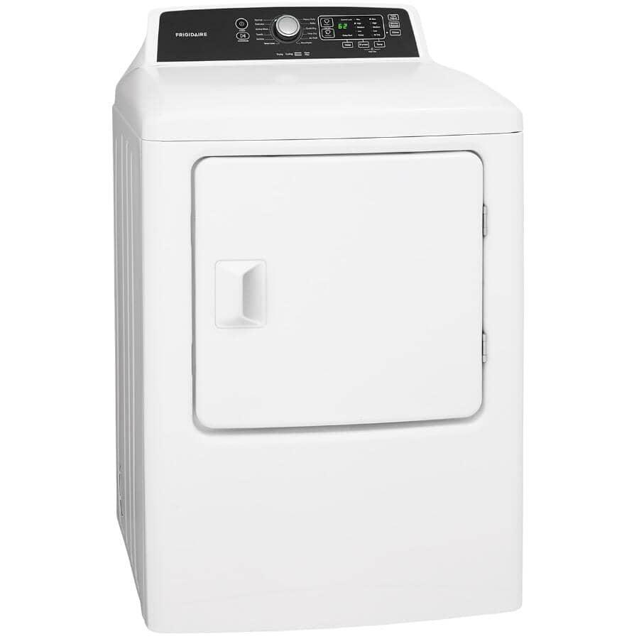 FRIGIDAIRE:6.7 cu. ft. White Dryer