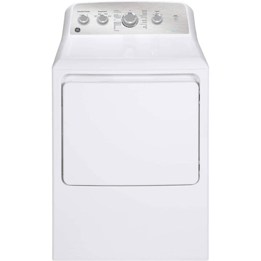 GE:7.2 cu. ft. Electric Dryer (GTD45EBMRWS) - White