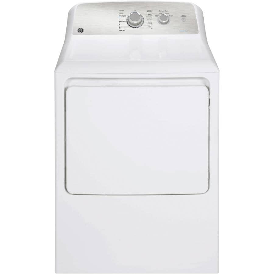 GE:7.2 cu. ft. Electric Dryer (GTD40EBMRWS) - White