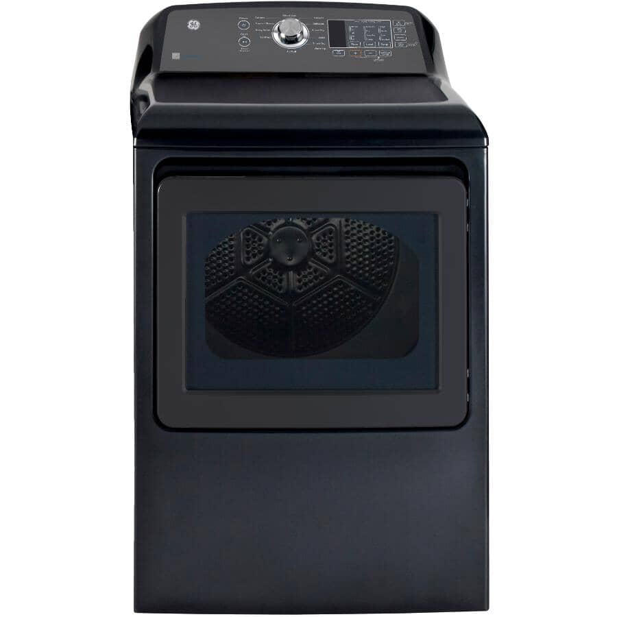 GE:7.4 cu. ft. Electric Dryer (GTD65EBMRDG) - Diamond Grey
