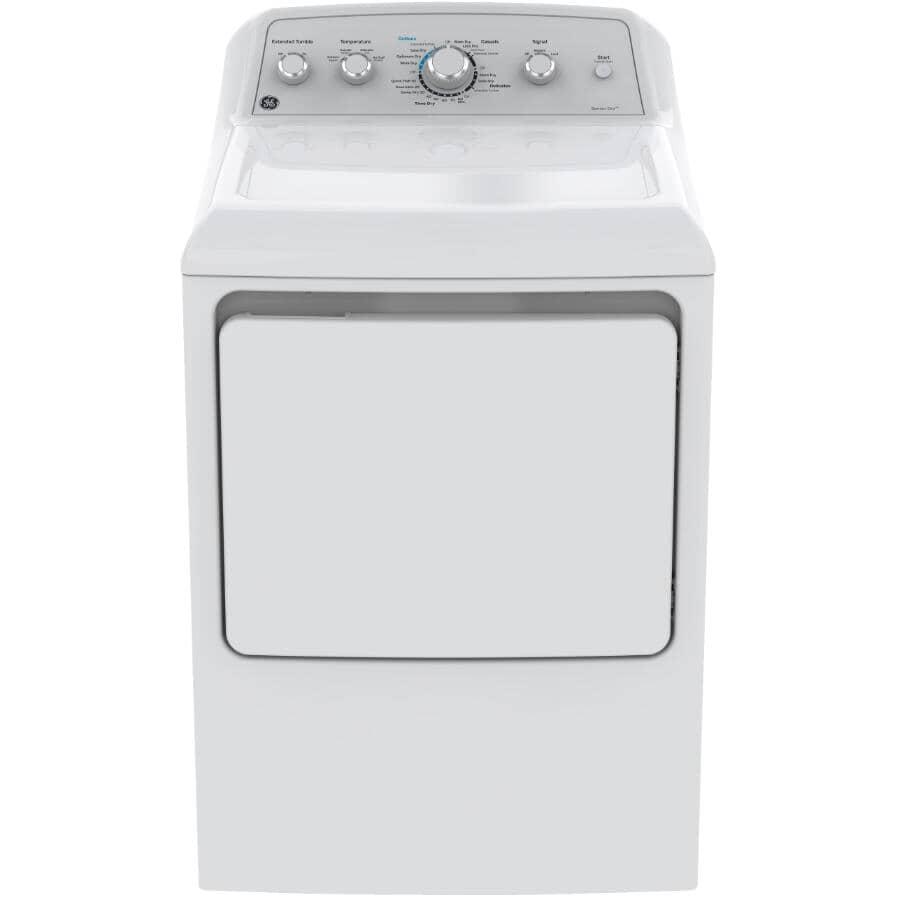 GE:7.2 cu. ft. Front Load Dryer (gtd45ebmkws) - White