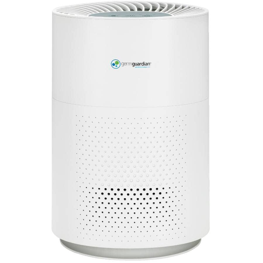 "GERM GUARDIAN:13"" HEPA Filter Air Purifier (AC4200W) - with 4 Speeds, 105 sq. ft."