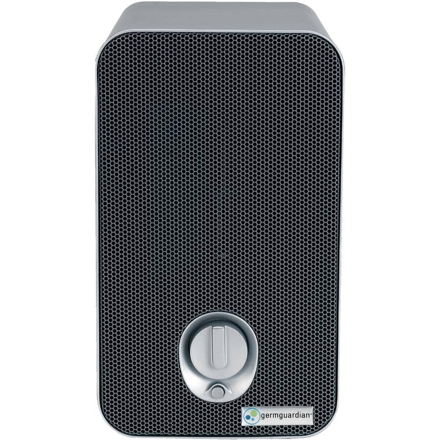 GERM GUARDIAN:4-In-1 Table Top Air Purifier - with HEPA Filter, UVC Sanitizer & Odor Reduction
