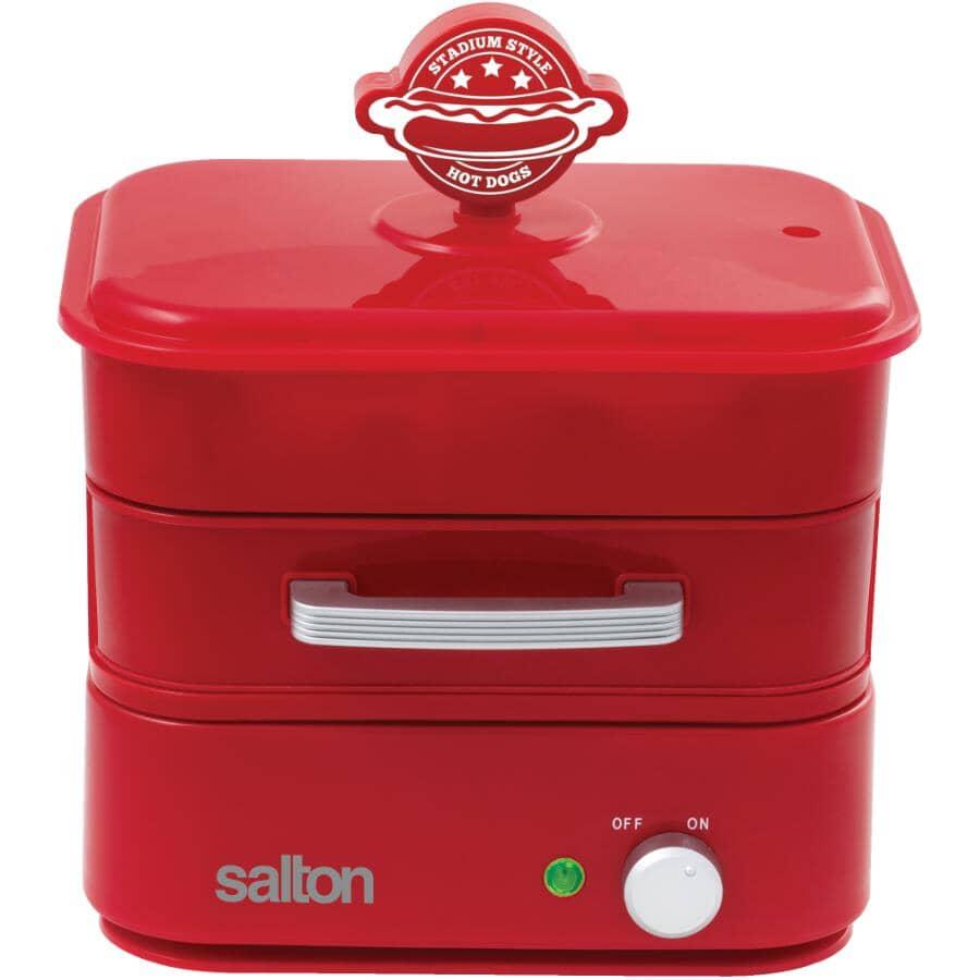 SALTON:Red Hot Dog Maker