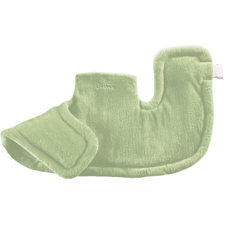 SUNBEAM:Coussin chauffant pour le cou et les épaules avec 4 réglages de chaleur