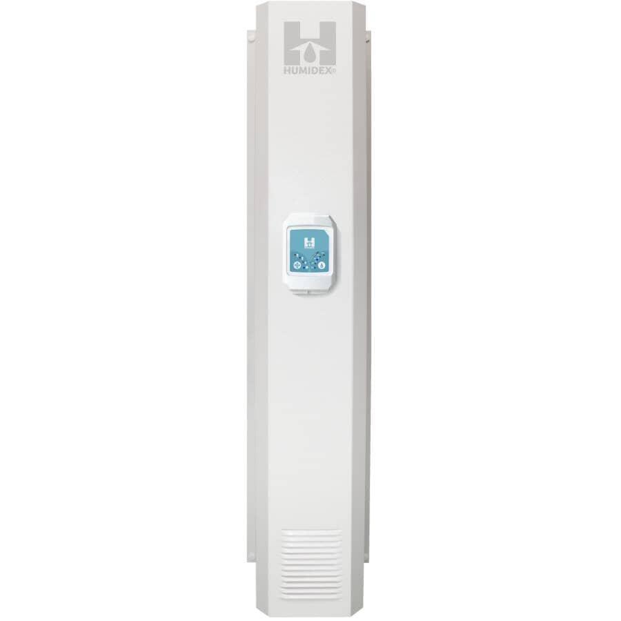 HUMIDEX:High Crawlspace Digital Ventilation System (DVS-HW) - White