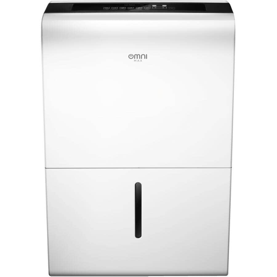 KOOLKING:35 Pint Portable Dehumidifier - with 2 Speeds, White + Black