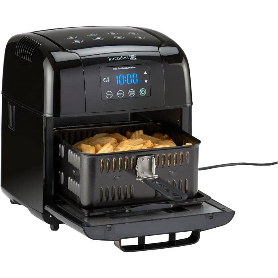 KURAIDORI:1600 Watt 5.5L Digital Multifunction Air Cooker, with Timer
