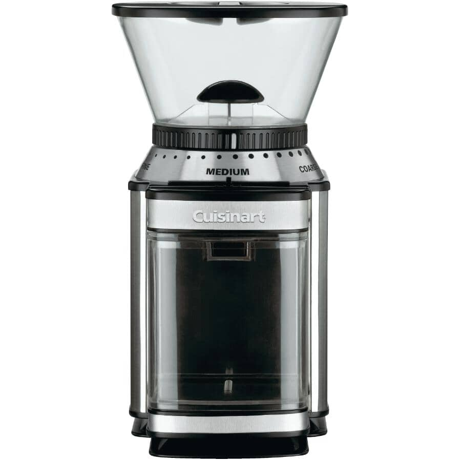 CUISINART:Supreme Grind Automatic Burr Coffee Grinder - Black & Stainless Steel