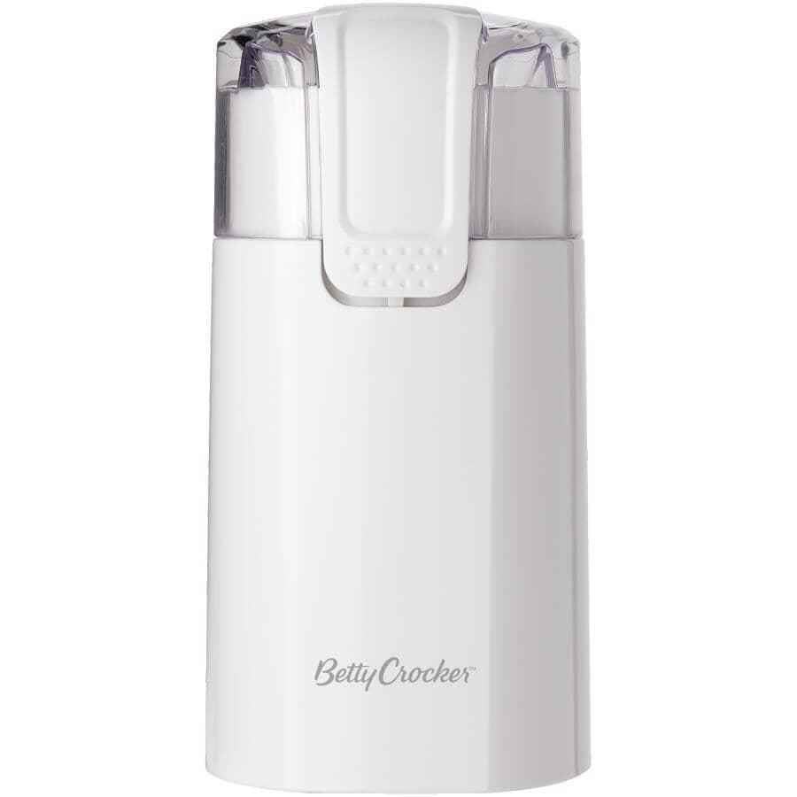 BETTY CROCKER:Moulin à café My Kitchen blanc