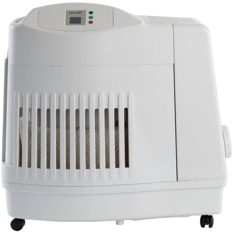AIRCARE:Evaporative Console Humidifier - 3600 sq. ft., White