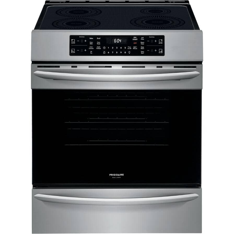 """FRIGIDAIRE GALLERY:30"""" Stainless Steel Electric Induction Range - Smooth Top"""