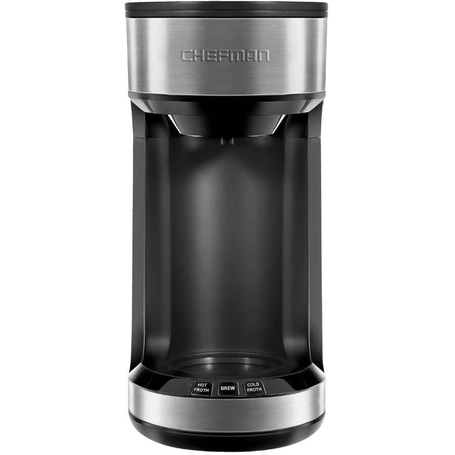 CHEFMAN:Machine à café mousser et infuser avec mousseur à lait intégré