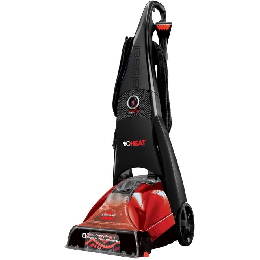 BISSELL:Proheat Carpet and Upholstery Deep Cleaner Upright Steam Extractor