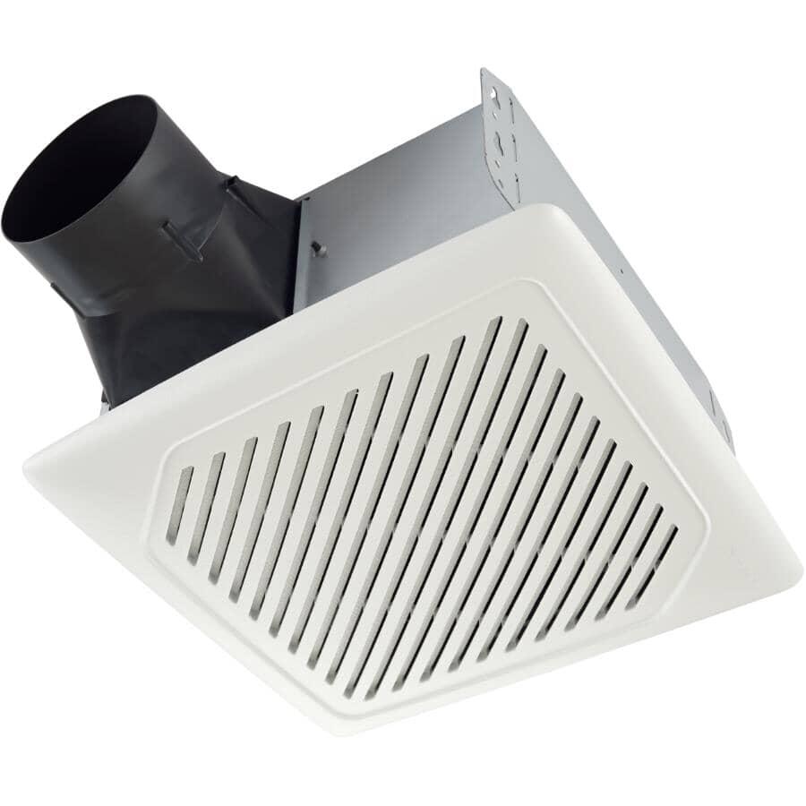 NUTONE:110 CFM 1.0 Sones Humidity Sensing Ceiling Vent Fan