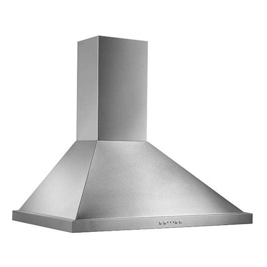 "BROAN:30"" Stainless Steel Chimney Style Wall Mount Range Hood"