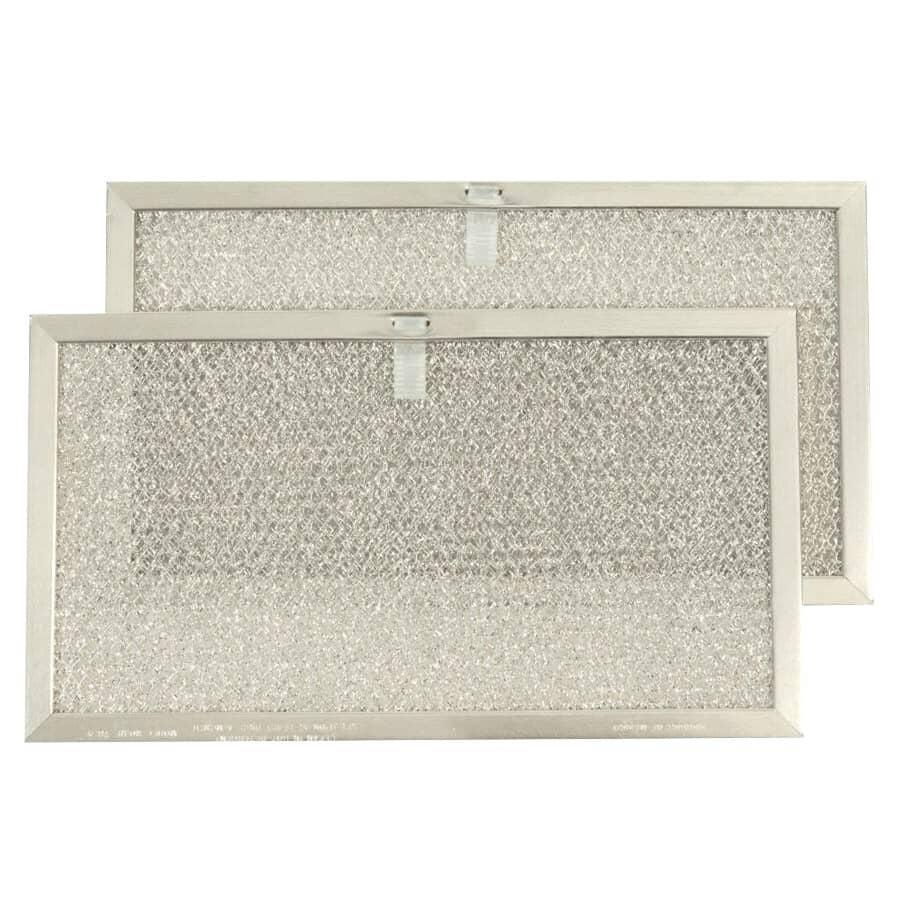 BROAN-NUTONE:2 Pack Aluminum Range Hood Filters, for Model NC 2S