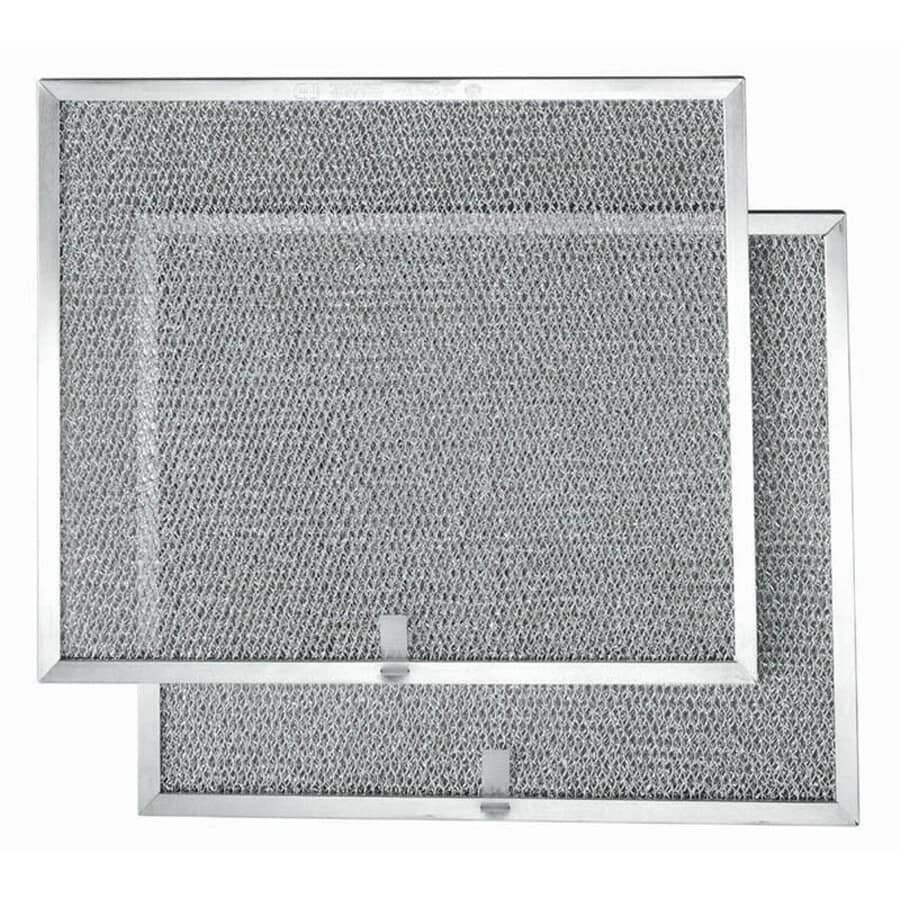 BROAN-NUTONE:Aluminum Range Hood Grease Filters - for Allure 2S, 2 Pack