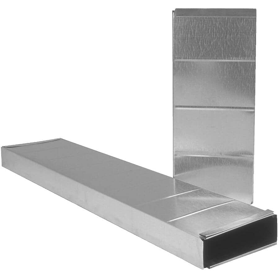 """IMPERIAL MANUFACTURING:3-1/4"""" x 10"""" x 24"""" Half Piece Stack Duct"""