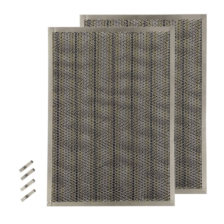 BROAN-NUTONE:Replacement Charcoal Filters - for QP3 Series Range Hoods, 2 Pack