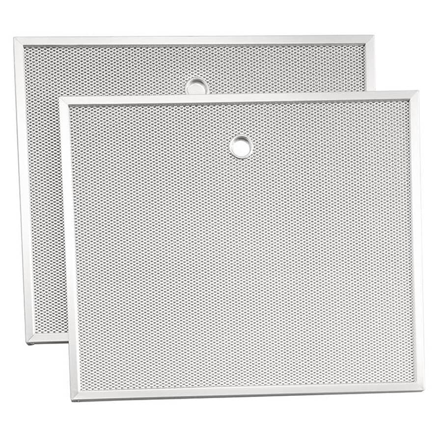 BROAN-NUTONE:2 Pack Aluminum Range Hood Filters, for Allure 3