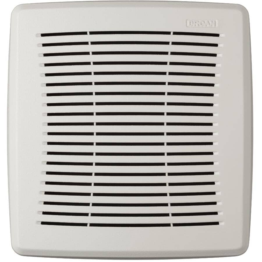 NUTONE:Replacement Bathroom Exaust Fan Grille - for Model 695 & 696 + White