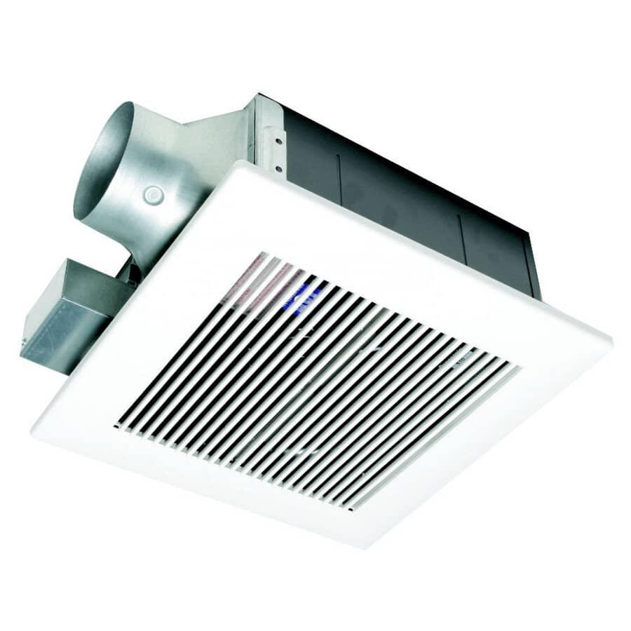 PANASONIC:110/80 CFM .1-.8 Sones Low Profile Vent Fan