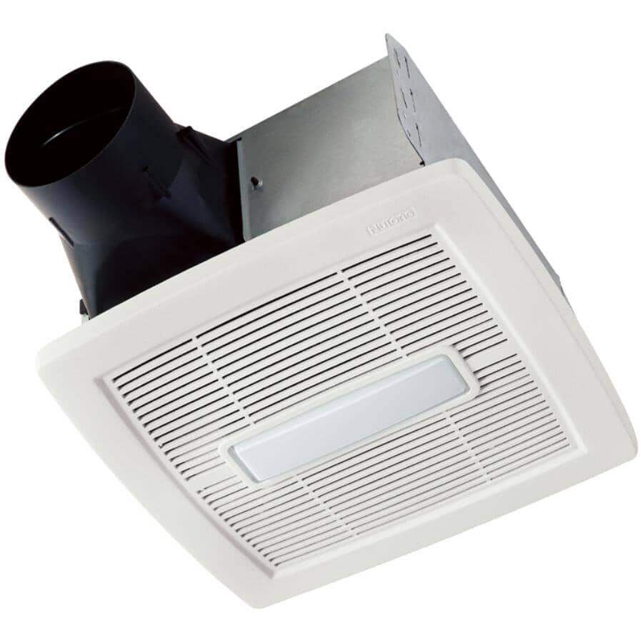 NUTONE:110 CFM 1.0 Sones Invent Series Vent Fan with LED Light