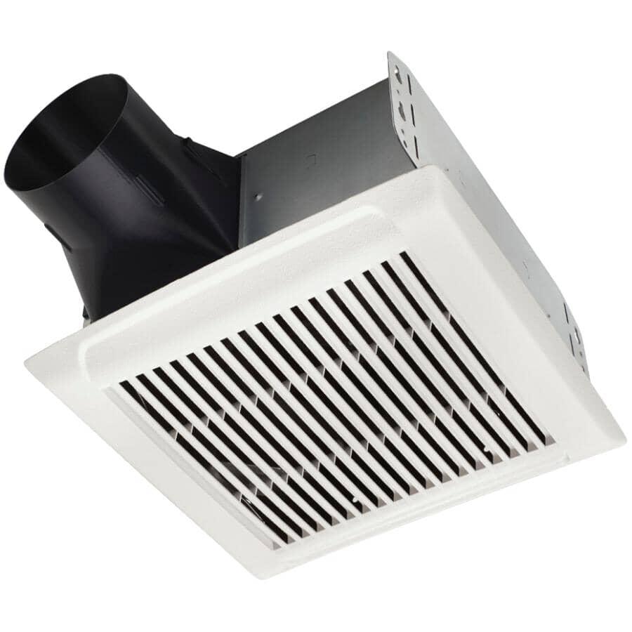 NUTONE:80 CFM 2.0 Sones Invent Series Single Speed Vent Fan