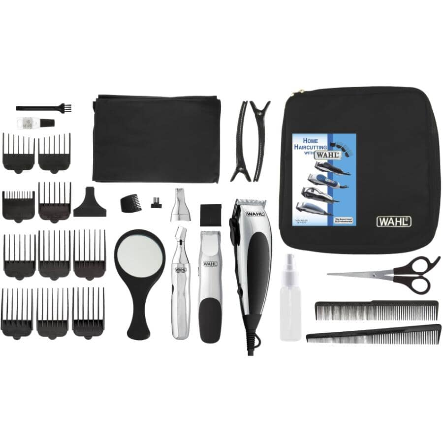 WAHL:30 Piece Signature Grooming Kit with Case