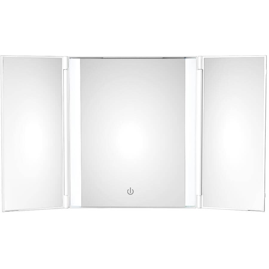 CONAIR:Tri-fold Makeup Mirror - Lighted